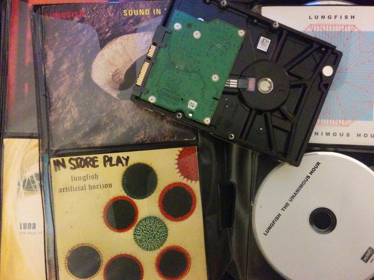 The best of '90s CDs and '90s technology. Also my favorite Lungfish CD
