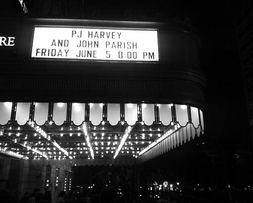 Marquee at the Warner Theatre
