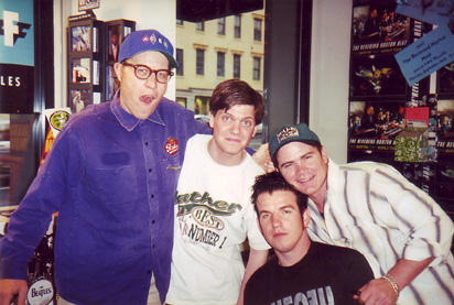Rev. Horton Heat at HMV, 1996